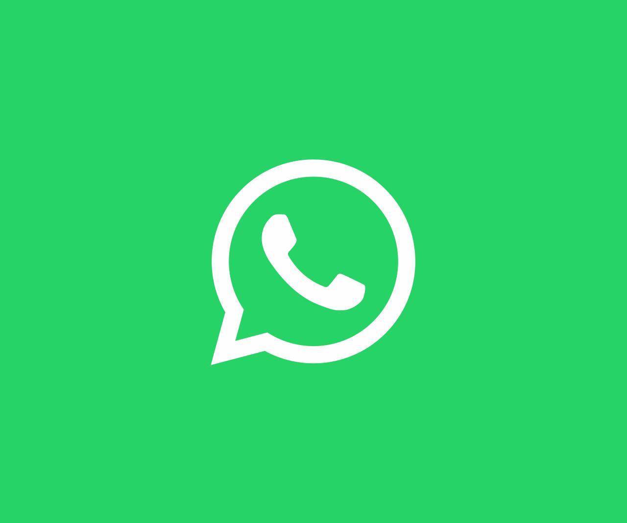 Schreibe eine Whatsapp Nachricht!
